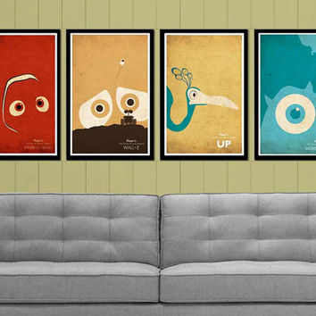 Promotion- Pick any 6 Walt Disney and Pixar posters