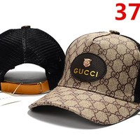 GUCCI Cap Hat Embroidered Sports Baseball Cap Hat 3748