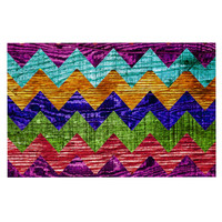 "Beth Engel ""Natural Flow"" Chevron Decorative Door Mat"