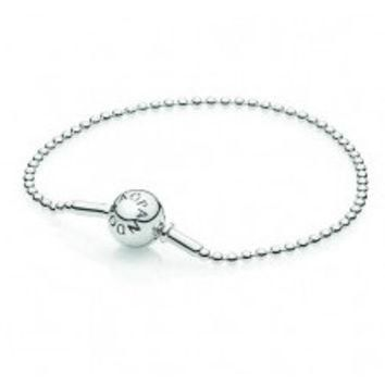 Authentic Pandora Jewelry - PANDORA ESSENCE Beaded Sterling Silver (For ESSENCE Charms