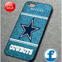 NFL Dallas Cowboys Blue Glitter Sparkle for iphone, ipod, samsung galaxy, HTC and Nexus Phone Case