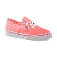 Neon Authentic Lo Pro, Girls | Shop Classics (10.5-4.0) at Vans