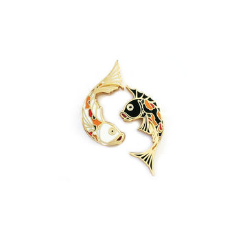 Don't Be Koi Hard Enamel Lapel Pin