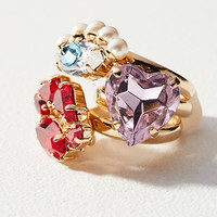 Clustered Cocktail Ring
