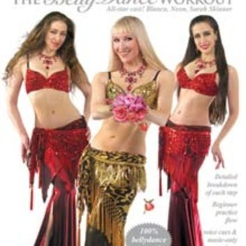 """""""Love Potion: The Belly Dance Workout"""" DVD with Neon"""