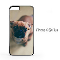 Puppy Eyes pug iPhone 6s Plus Case
