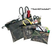 CLC 1100M Keepers Mossy Oak Camo Multi-Purpose Zippered Bag Set