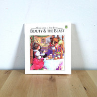 Beauty and the Beast: Once Upon a Time Tales {1992} Vintage Book