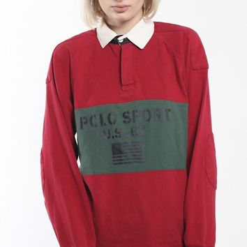 Vintage Polo Sport Rugby Shirt