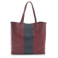 J.Crew Womens Downing Tote In Colorblock Stripe