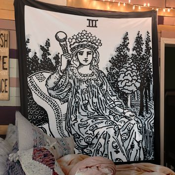 The Empress Tarot Card Tapestry - Rider Waite The Empress Tapestry