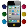 Skque Home Button Sticker for Apple iPhone iPad iPod Touch 6 Colors