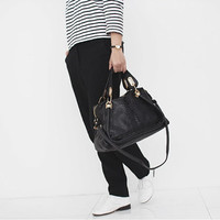 Free Shipping - Anaconda Paraty Bag(Black Color) /Tote bags/Shoulder bags/Bags & Purses/Handbags- Premium Cow leather