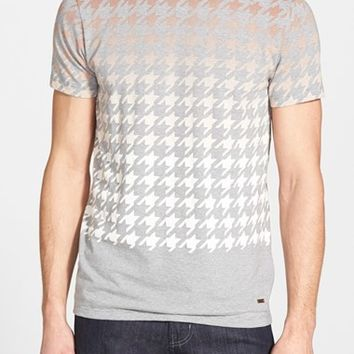 Men's BOSS Orange 'Tintoretto' Ombre Houndstooth T-Shirt,