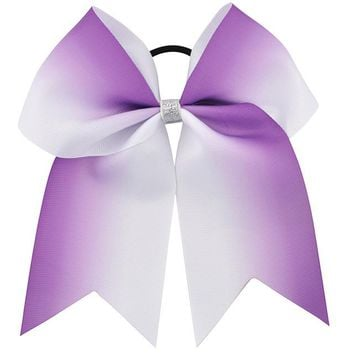 7 Inch Large  Cheer Bow Gradient