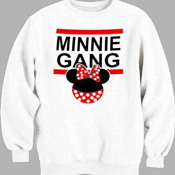 Disney Inspired Mickey Gang and Minnie Gang women Sweater for Mens Sweater and Womens Sweater *
