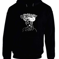 Melanie Martinez Crybaby Black And White Funny Hoodie
