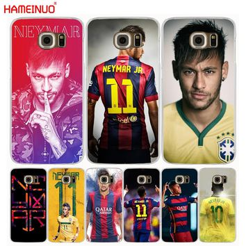 HAMEINUO Jr Neymar cell phone case cover for Samsung Galaxy S7 edge PLUS S8 S6 S5 S4 S3 MINI