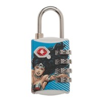 Wonder Woman Combination Luggage Lock