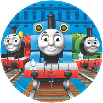 Thomas the Tank Engine 7 Inch Dessert Plates
