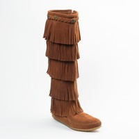5-Layer Fringe Boot | Minnetonka Moccasin