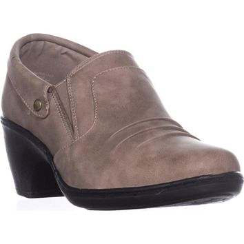 Easy Street Bennett Ankle Booties, Taupe, 8 W US