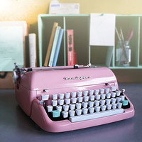 Vintage 1950s Reconditioned Typewriter