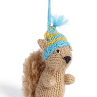 Nordstrom at Home Knit Squirrel Ornament | Nordstrom