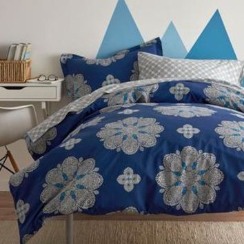 Kara Back To Campus Percale Comforter Collection
