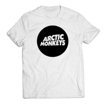 Circle Arctic Monkeys Clothing T shirt Men