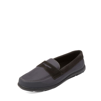 SWIMS Men's George Penny Loafer - Light/Pastel Grey -