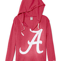 University of Alabama Vintage Tunic Hoodie - PINK - Victoria's Secret