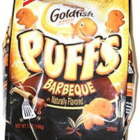 Pepperidge Farm Baked Goldfish Puffs Bbq Flavored 7 oz (1 bag)