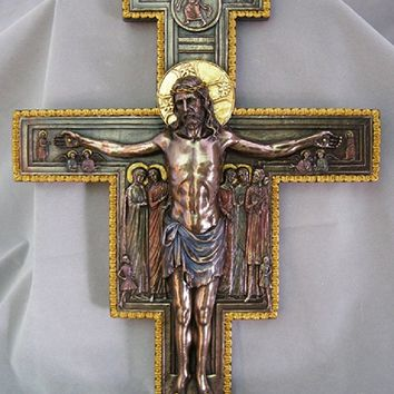 San Damiano Crucifix from the Veronese Collection, 11x16inches