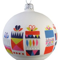Nordstrom at Home 'Present' Glass Ball Ornament | Nordstrom
