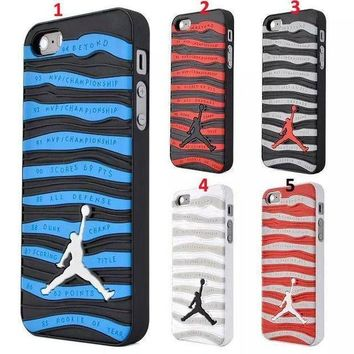 CREYUG7 Jordan Case for iPhone 4 4s 5 5s 5c 6/6s 6 plus/6s plus