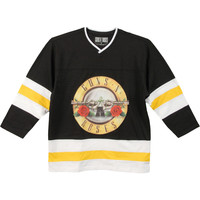 Guns N Roses Men's  Hockey Jersey Black