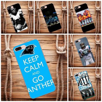 Vvcqod Carolina Panthers For Sony Xperia Z Z1 Z2 Z3 Z4 Z5 compact Mini Premium M2 M4 M5 T3 E3 E5 XA Photo Soft Phone Case