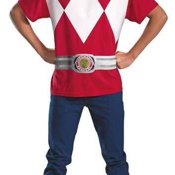 Red Power Ranger Alternative 42-46 Costume