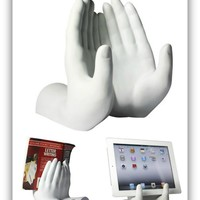 Hands Book & IPad Tablet Holder