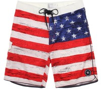 Rip Curl Old Glory Boardshorts - Mens Board Shorts - Red