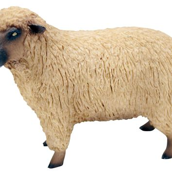 Sandicast Small Size Realistic Sheep Sculpture Country Farm Animal SS73601