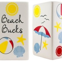 Beach Bucks Money Bank