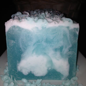 Ocean Waves Glycerin & Shea Soap Bar (4oz) Handmade