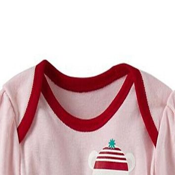 Baby Bodysuit Baby Girl Clothes Spring Fashion Newborn Bodysuits Baby Costume Long Sleeve Letter Pattern Baby Clothes