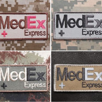 """BuckUp Tactical Morale Patch Hook MedEx Express Patches 2.75"""""""