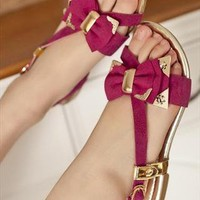 Monica Flat  Sandals  from sniksa