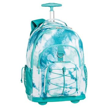 Gear-Up Pool Tie-Dye Rolling Backpack
