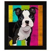 One Kings Lane - Prints for the Pet Lover - Colorful Dogs Print I