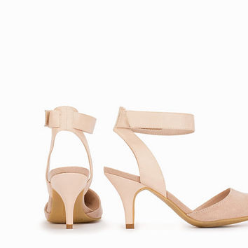 Pointy Mid Heel Pump, NLY Shoes